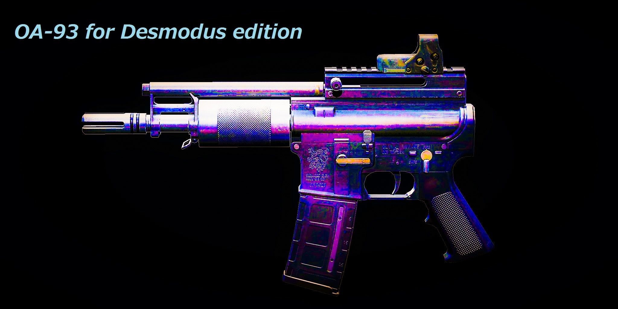 「OA-93 for Desmodus edition」(仮)