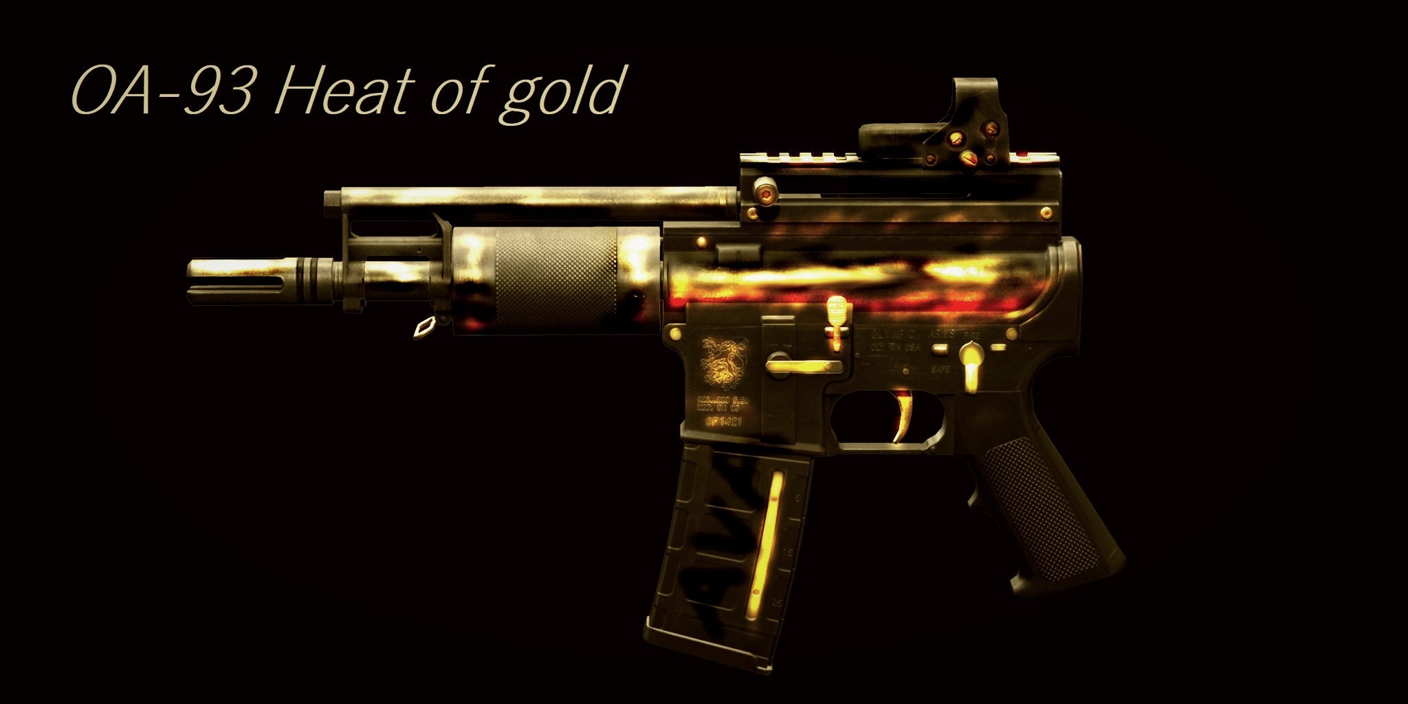 OA-93 Heat of gold